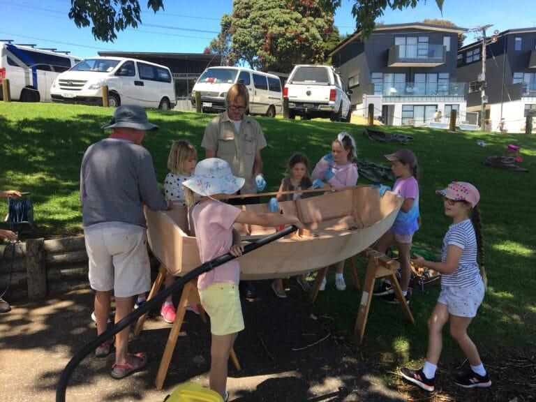 NZTBS / Taikata Sailing Club Kids Build